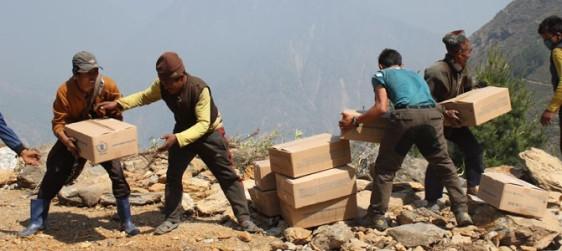 Nepal Earthquake Emergency Food Distributions